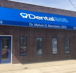 The exterior of Albertson's Dental365 location